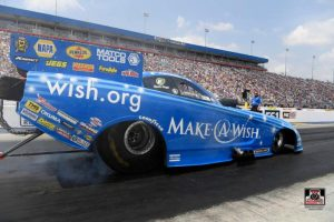 Tommy Johnson Jr. Four-Wide Nationals Race Report: First Round