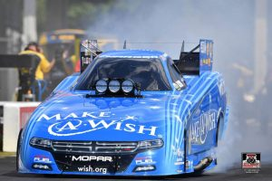 Chandler's Make-A-Wish team, Johnson eager to return home after another early loss in NHRA Southern Nationals near Atlanta
