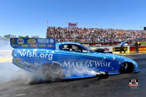Chandler's Make-A-Wish Funny Car team travels to Heartland Park where Iowa native Johnson recalls milestones at hometown track
