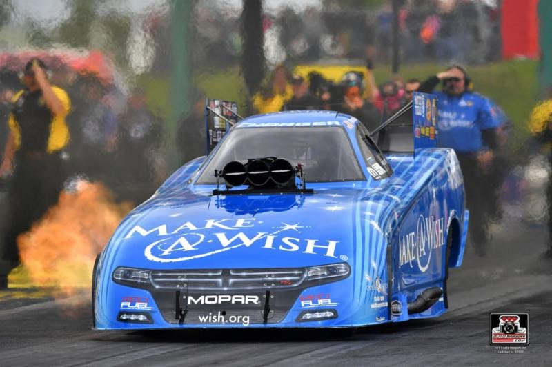 Johnson's plan to end slump for Chandler's Make-A-Wish team goes up in flames in first round on Sunday in Heartland Nationals