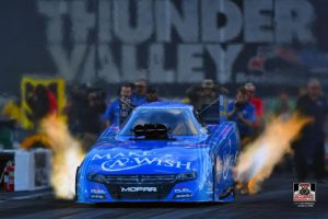 Chandler's Make-A-Wish Dodge with Johnson hope to continue tradition of winning on Father's Day in Thunder Valley Nationals