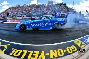 Make-A-Wish, Johnson consistent throughout Norwalk qualifying, will start No. 5 to end grueling four-race June Swing