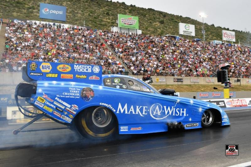 Make-A-Wish team advances to second straight final round but fall a little short at Bandimere in another heartbreaking loss