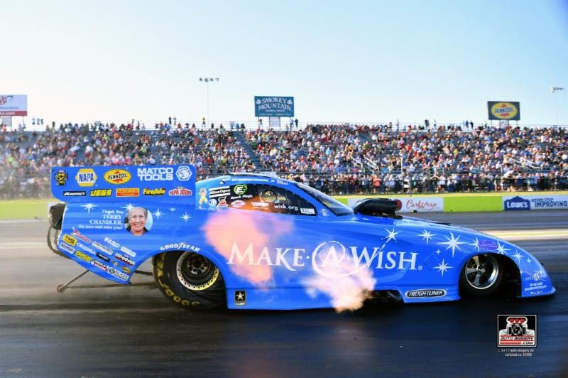 Johnson looks forward to defend title in two weeks at Las Vegas, and early preparations for the 2018 NHRA Mello Yello Series