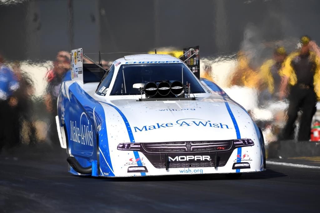 Defending Funny Car Winner Tommy Johnson Jr. Excited For Four-Wide Racing At DENSO Spark Plugs NHRA Four-Wide Nationals