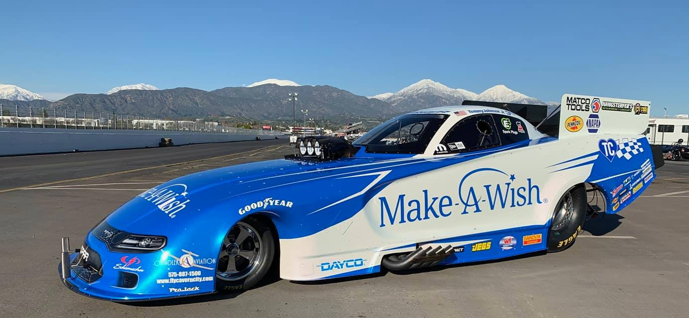 Presenting the 2019 Make-A-Wish Dodge Charger SRT Hellcat Funny Car<br>Sponsored by: Doug Chandler, in honor of his late wife, Terry Chandler