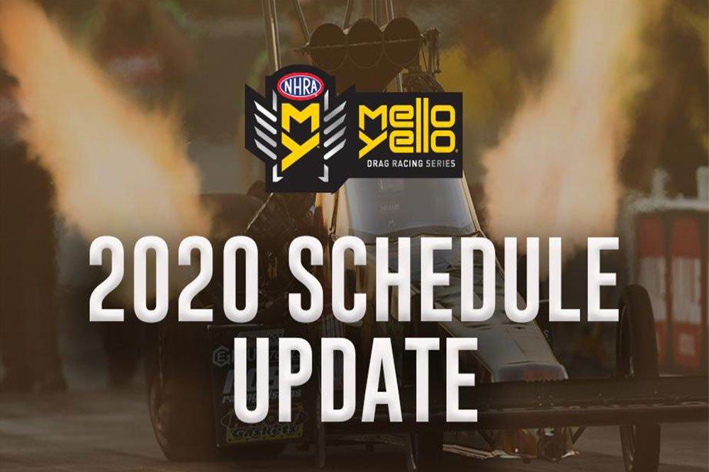 NHRA announces balance of 2020 Mello Yello season; six more races scheduled