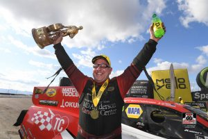 DSR Chasing 10th Consecutive Funny Car Victory in Gainesville
