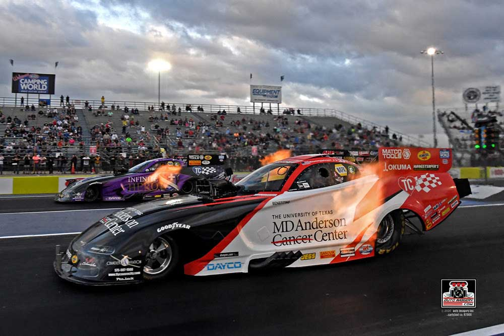 NHRA Houston Pre-Race Report