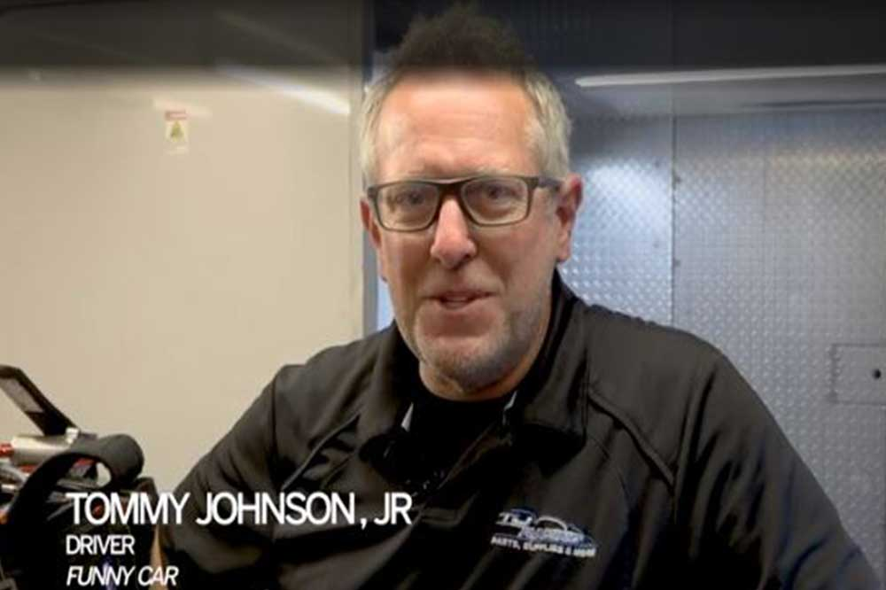 You are currently viewing Tommy Johnson Jr. will continue to sub for Matt Hagan at Reading event