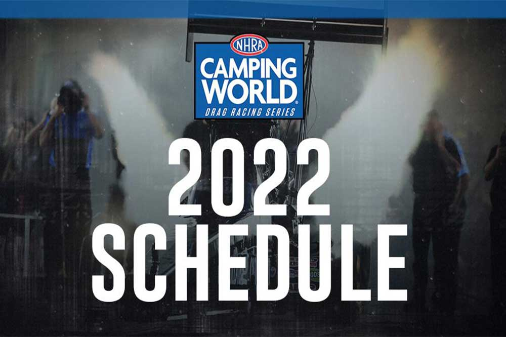 You are currently viewing NHRA announces 22-event NHRA Camping World Series schedule for 2022